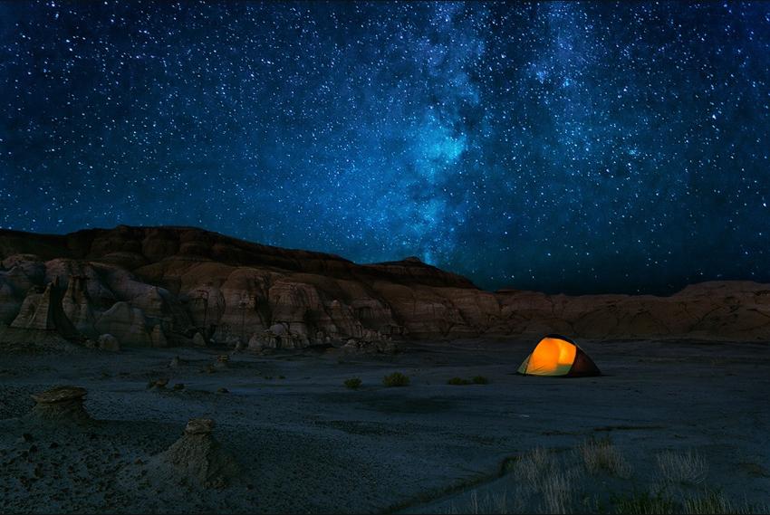 The night photographers' stellar secret